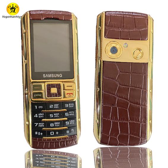 Samsung Ego S9402 bọc da cá sấu -  DT12