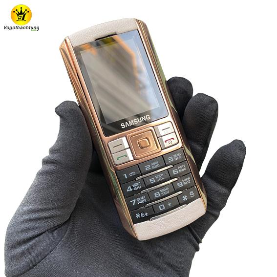Samsung Ego S9402 bọc da trắng -  DT14